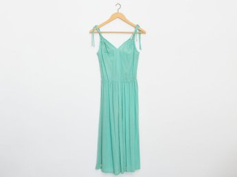 Green sundress by Blessthisdress