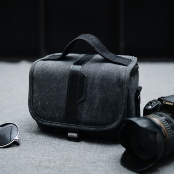 black-camera-bag
